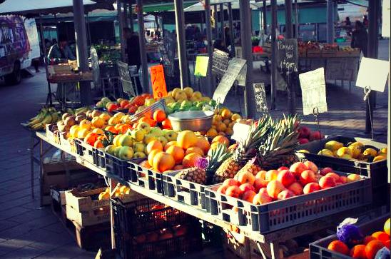 Local market Nice